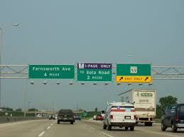 Illinois Toll Plaza Map by Techknow Engineering