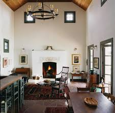 butcher ranch farmhouse living room austin by michael g