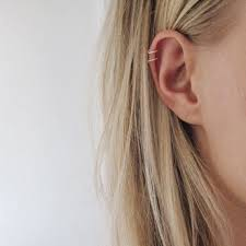cartilage hoops best 25 cartilage hoop ideas on cartilage piercing