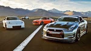 nissan gtr youtube 2017 sema drag race 240z vs 370z vs gtr vs trophy truck 2015 sema