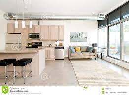 Living Room Condo Design by Modern Condo Kitchen And Living Room Stock Photo Image 26857290
