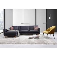 Contemporary Leather Sectional Sofa by Modern Sectional Sofas Allmodern