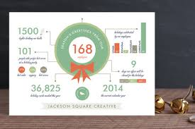 Business Holiday Card Holiday Infographics Business Holiday Cards By Fro Minted