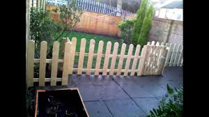 pallets free fence from old pallets youtube