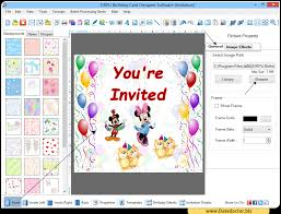 birthday card maker software design greeting happy