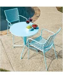 Alfresco Home Outdoor Furniture by Spring Into Savings On Alfresco Home Martini Wrought Iron 3 Piece