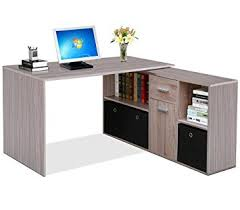 Computer Storage Cabinet Tinkertonk Large Corner Computer Desk With Storage Cabinet Drawer