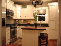 ideas for a small kitchen remodel practical small kitchen remodel with island railing stairs and