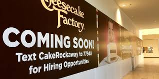 cheesecake factory coming to rockaway townsquare