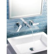 Bathroom Wall Faucet by Waterfall Bathroom Sink Faucets You U0027ll Love Wayfair