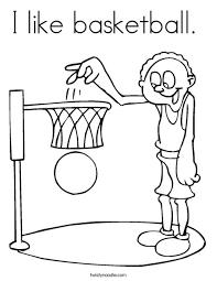 i like basketball coloring page twisty noodle
