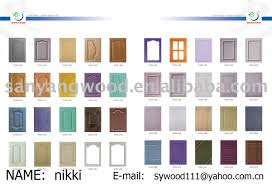 Pvc Kitchen Furniture Pvc Kitchen Cabinet Doors Home Decoration Ideas