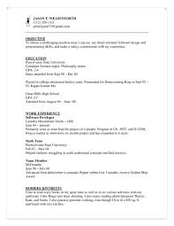 Sample Camp Counselor Resume by Residential Counselor Cover Letter
