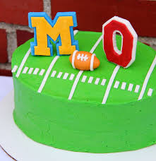 michigan vs ohio state tailgate cake blog homeandawaywithlisa