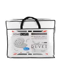 10 Tog King Size Duvet Goose Feather And Down Duvet 10 5 Tog Homescapes