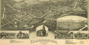 Wv Map This Old Map Shows What Clarksburg Used To Look Like