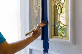 is it better to paint or stain your kitchen cabinets should you stain or paint a front door home decor bliss
