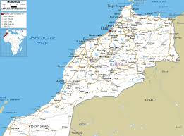 Driving Map Of America by Awesome Map Of Morocco Travelsmaps Pinterest Morocco