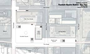 Penn Station Floor Plan by Metro Cincinnati Fountain Square Transit Center