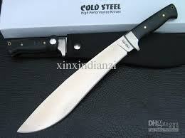 Cold Steel Kitchen Knives Drop Shipping Cold Steel Tactical Knife Fixed Blade Camping Knife