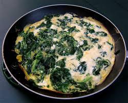 cuisine epinard omelette chèvre épinards ma cuisine santé