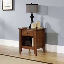 Small Nightstand With Drawers Small Night Stand Furniture Ebay