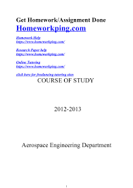 156936727 aerospace m tech course of study bulletin 2012