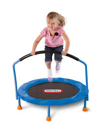 toddler trampoline with handlebar trampoline for your health