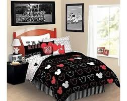 mickey mouse king size bed set 8724