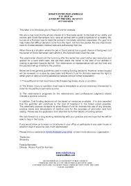 letter of application charity index letter to veterinarians