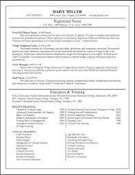 Sample Nursing Resume Objective new graduate registered nurse resume examples
