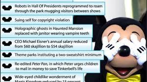 spirit halloween salary disney u0027s cost cutting measures the onion america u0027s finest news