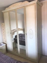 Italian Bedroom Furniture Italian Bedroom Furniture Bed Frame Wardrobe Dressing Table And