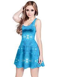 light blue sleeveless dress cowcow womens tie dye reversible sleeveless dress at amazon women s