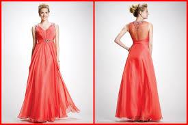 coral prom dresses sparkling broad shoulder straps high waist with