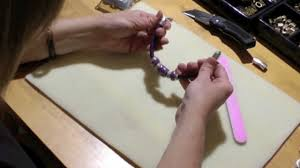 How To Make Magnetic Jewelry - antelope beads how to make a regaliz leather bracelet youtube