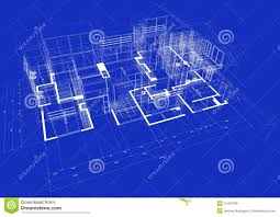 blueprints for a house 3d blueprint house stock illustration illustration of apartment