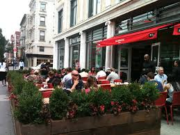 Restaurant Patio Design by Restaurant Outdoor Dining Hospitality Design Of Red Rooster Harlem