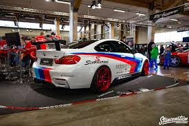 bmw m4 stanced bilsport performance custom car show 2016 photo coverage