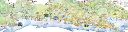Cinque Terre Map Deiva Com Hotel Residence And Campings In Deiva Marina Between