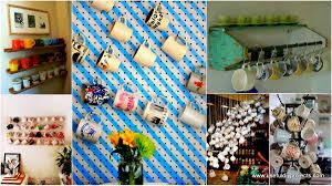 30 extraordinary creative and graphic diy mug storage to beautify