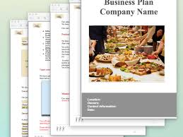 catering business plan example sample pages black box business plans