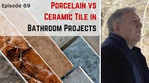Ceramic Tile Vs Porcelain Tile Bathroom Porcelain Tile Vs Ceramic Tile Key Differences In Bathroom