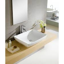 bathroom pedestal sinks ideas bathroom luxier ceramic rectangular vessel sink for bathroom sink