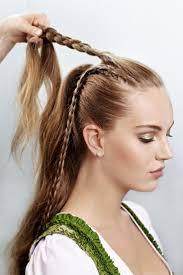 Hochsteckfrisurenen Zum Dirndl Selber Machen by 1000 Ideas About Wiesn Frisuren Selber Machen On