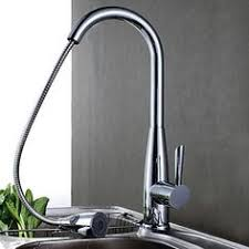 Solid Brass Kitchen Taps by Charmingwater Contemporary Brass Chrome Finish Single Handle Put