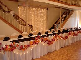 Wedding Reception Table Centerpiece Ideas by Autumn Wedding Table Decorations Need Fall Head Table Ideas