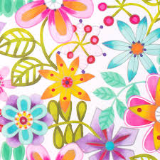 flower wrapping paper gift wrap bright floral wrapping paper at papyrus