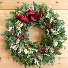 christmas wreaths christmas wreath a fragrant décor with roses