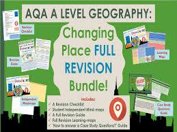 aqa a level changing places revision checklist by